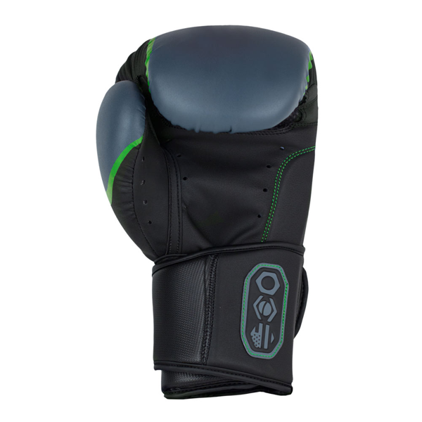 BadBoy Pro Series 3.0 Boxing Gloves Sorte/Gra3