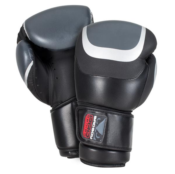 BadBoy Pro Series 3.0 Boxing Gloves Sorte/Gra