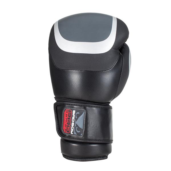 BadBoy Pro Series 3.0 Boxing Gloves Sorte/Gra1