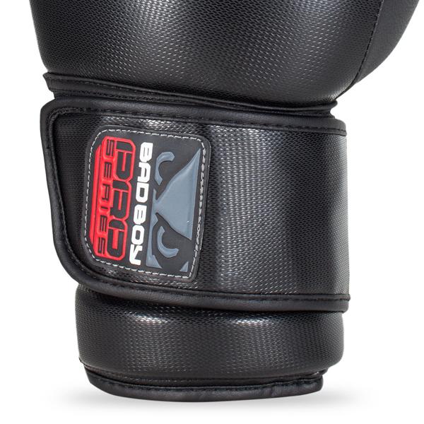 BadBoy Pro Series 3.0 Boxing Gloves Sorte/Gra4