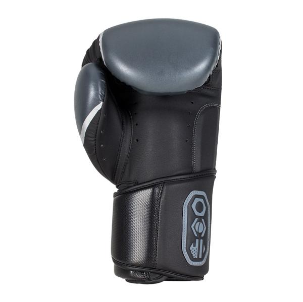 BadBoy Pro Series 3.0 Boxing Gloves Sorte/Gra2