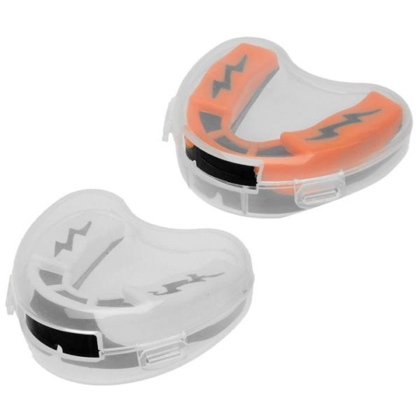 Shock Doctor 1.5 Twin Pack Mouth Guards - junior4