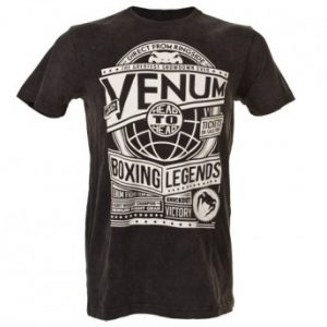 """VENUM """"BOXING LEGENDS"""" T-SHIRT - BLACK"""