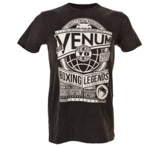 "VENUM ""BOXING LEGENDS"" T-SHIRT - BLACK"