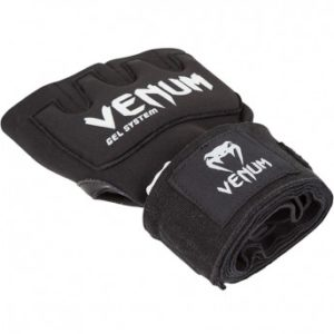 "Venum ""Kontact"" Gel Glove Wraps - Black1"