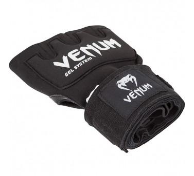 "Venum ""Kontact"" Gel Glove Wraps - Black1"
