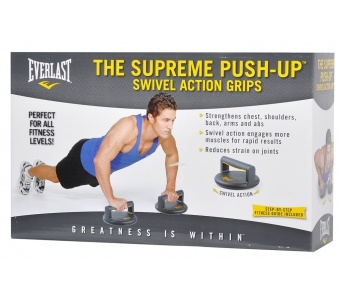 EVERLAST SUPREME PUSH UP SWIVEL ACTION GRIPS