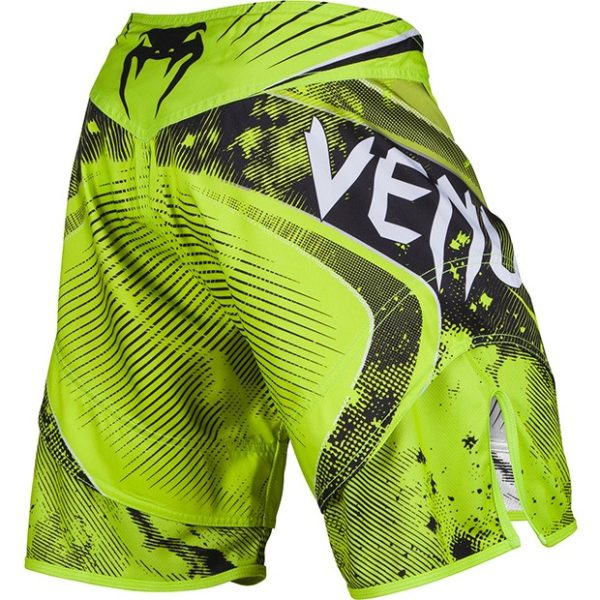 "Venum ""Galactic"" Fightshorts - Neo Yellow"