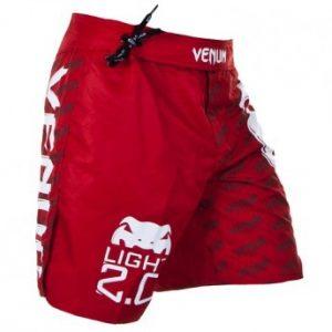 """VENUM """"LIGHT 2.0"""" FIGHTSHORTS - RED"""