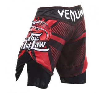 "VENUM DAN HARDY ""OUTLAW"" FIGHTSHORTS - RED"