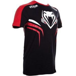 """Venum """"Shockwave 2"""" T-shirt - Black/Red"""