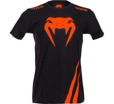 "Venum Venum ""Challenger"" T-shirt - Black/OrangeChallenger"" T-shirt - Black/Orange"