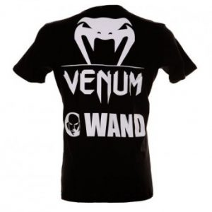 "VENUM ""WAND FIGHT TEAM"" T-SHIRT - BLACK"