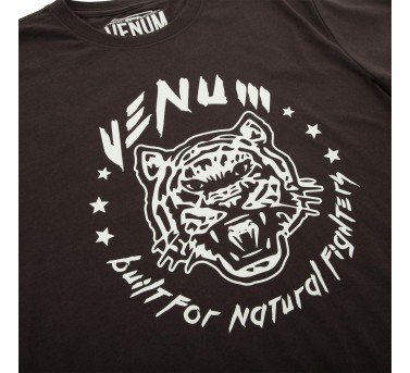"VENUM ""Natural Fighter"" Tiger T-SHIRT - BROWN"