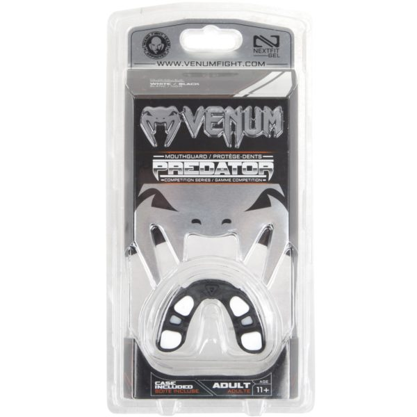 "Venum ""Predator"" Mouthguard Black/White4"