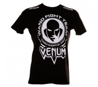 """VENUM """"WAND FIGHT TEAM"""" T-SHIRT - BLACK"""