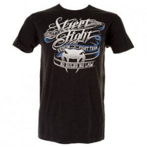 "VENUM ""STREET FIGHT"" T-SHIRT - BLACK"