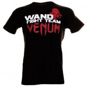 "VENUM ""WAND FURY"" T-SHIRT - BLACK"