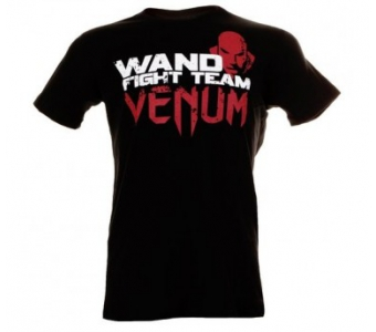 "VENUM ""WAND FURY"" T-SHIRT - BLACK"