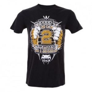 "VENUM ""BUILT TO STRIKE 2.0"" T-SHIRT BLACK"