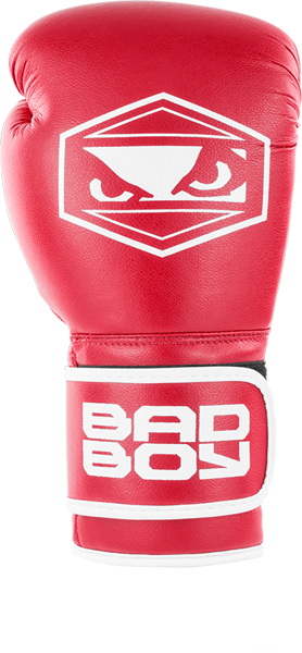 BadBoy Strike Boxing Gloves - Røde2