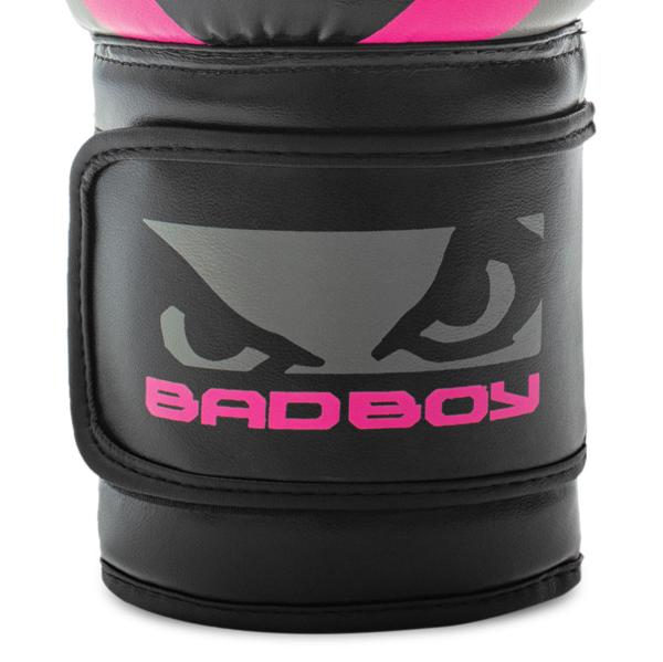BadBoy Training Series 2.0 - Women Boxing Gloves - Sort/Rosa