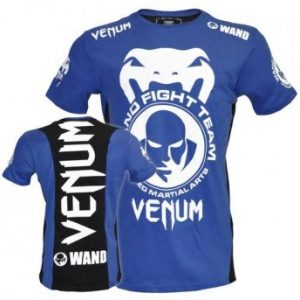 "VENUM WAND TEAM ""SHOCKWAVE"" TEE - BLACK/BLUE"