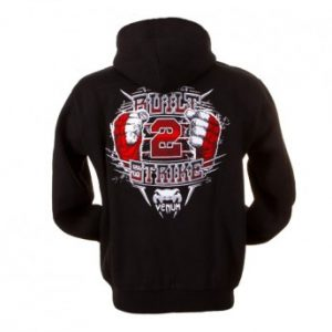 "VENUM ""BUILT 2 STRIKE EVOLUTION"" HOODY - BLACK"