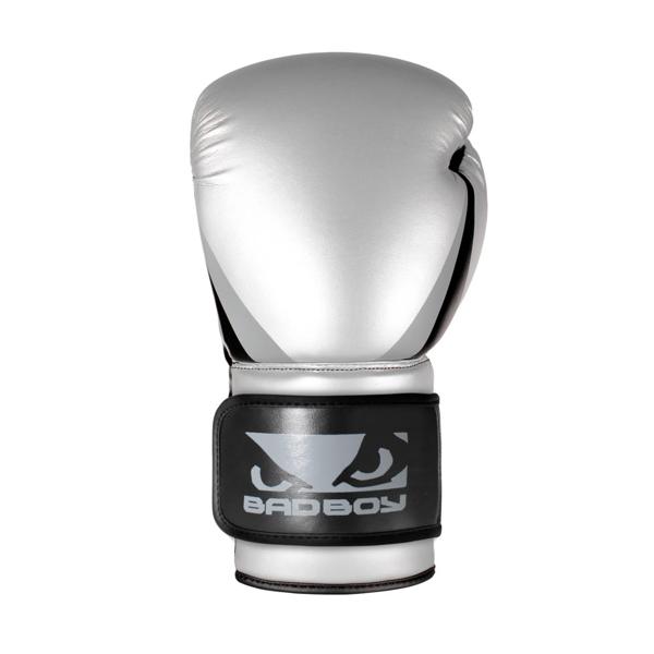 BadBoy Training Series 2.0 Boxing Gloves - Sølv