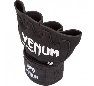 "Venum ""Kontact"" Gel Glove Wraps - Black3"