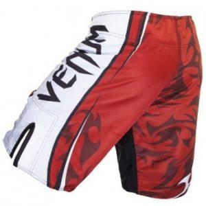 "VENUM CARLOS CONDIT ""CHAMPIONSHIP EDITION UFC 154"" FIGHTSHORTS - RED"