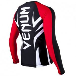 "VENUM ""ELECTRON 2.0"" RASHGUARD - BLACK - LONG SLEEVES"