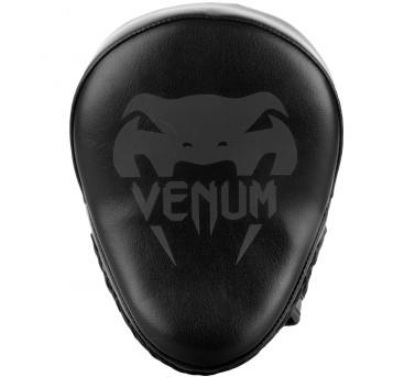 """Venum """"Light"""" Focus Mitts - Black (Pair)"""