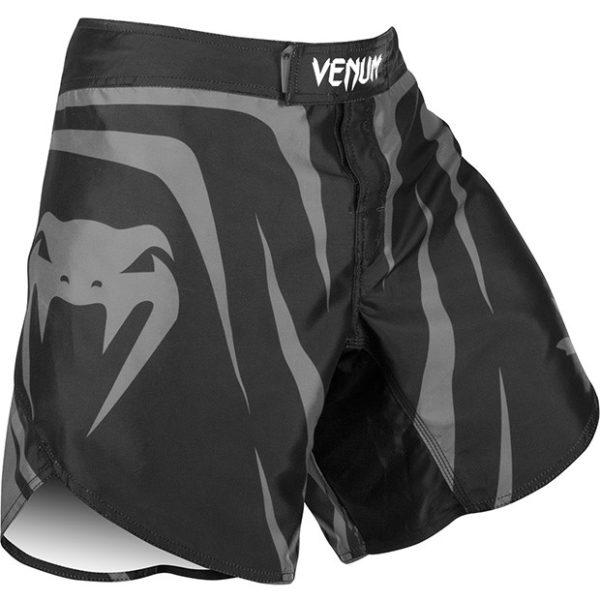 """Venum """"Sharp Silver Arrow"""" Fightshorts - Black/Silver"""