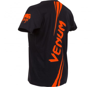 """Venum """"Challenger"""" T-shirt - Black/Orange"""