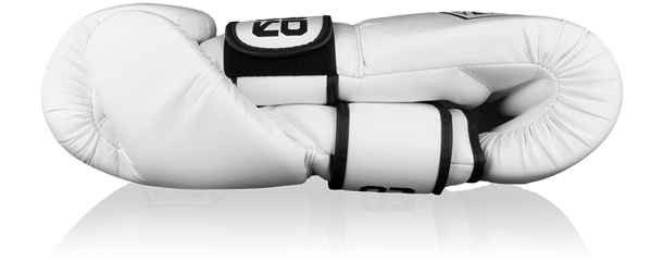 BadBoy Strike Boxing Gloves - Hvite3