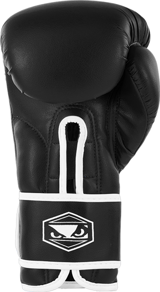 BadBoy Strike Boxing Gloves - Sorte1