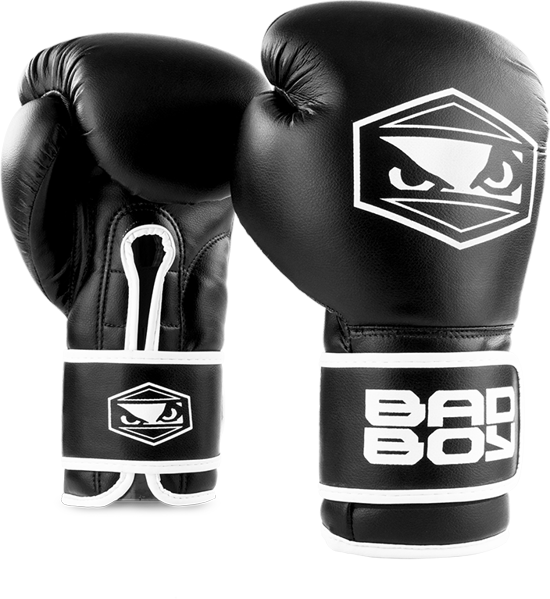 BadBoy Strike Boxing Gloves - Sorte